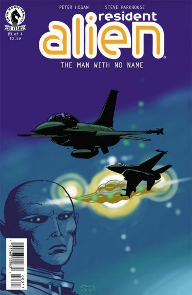 Resident Alien: The Man with No Name 3 Issue #3