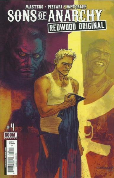 Sons of Anarchy: Redwood Original 4 Issue #4