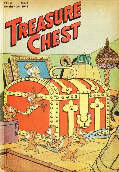 Treasure Chest of Fun and Fact, Vol. 2 5 Issue #5