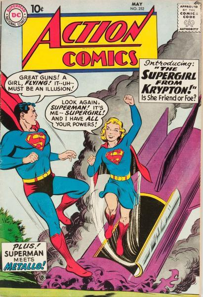 Action Comics 252 The Supergirl from Krypton