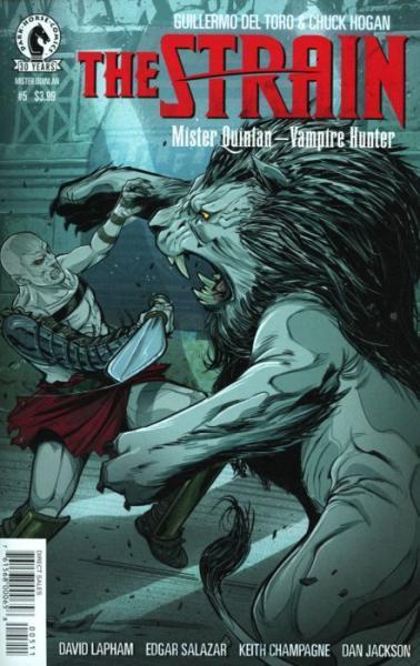 The Strain: Mister Quinlan - Vampire Hunter 5 Issue #5